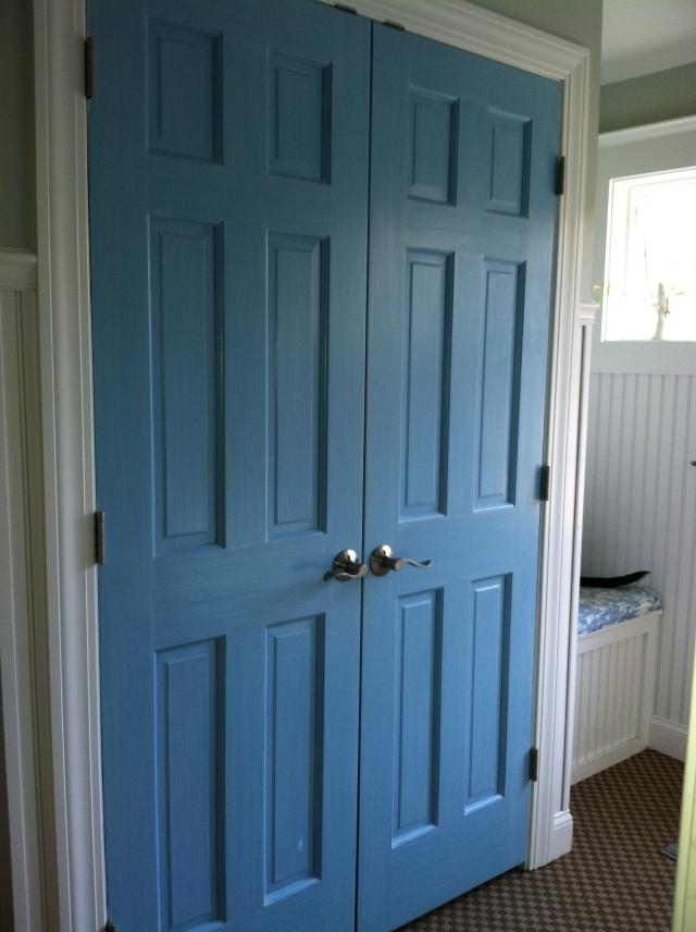 Pop o color on doors