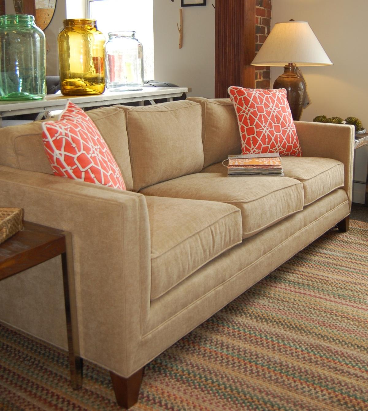 Gold sofa is a winner