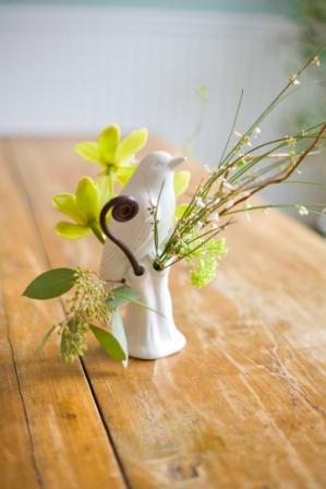 Bird vases...chic