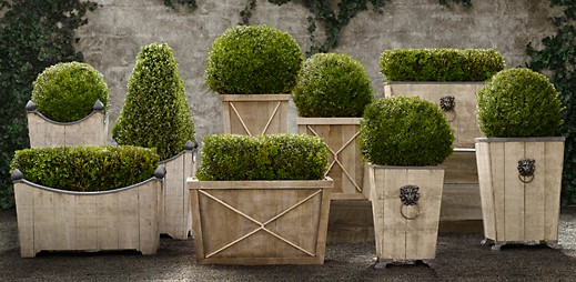 369 planters - Restoration Hardware Outdoor Furniture