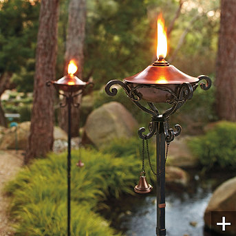are the options for firepits pots and torches celia bedilia designs
