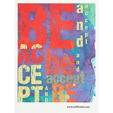 CB2 Cool Poster great for a family room only $14.99