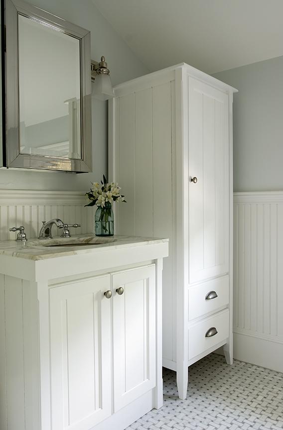 Tower $ 880, custom vanity $650