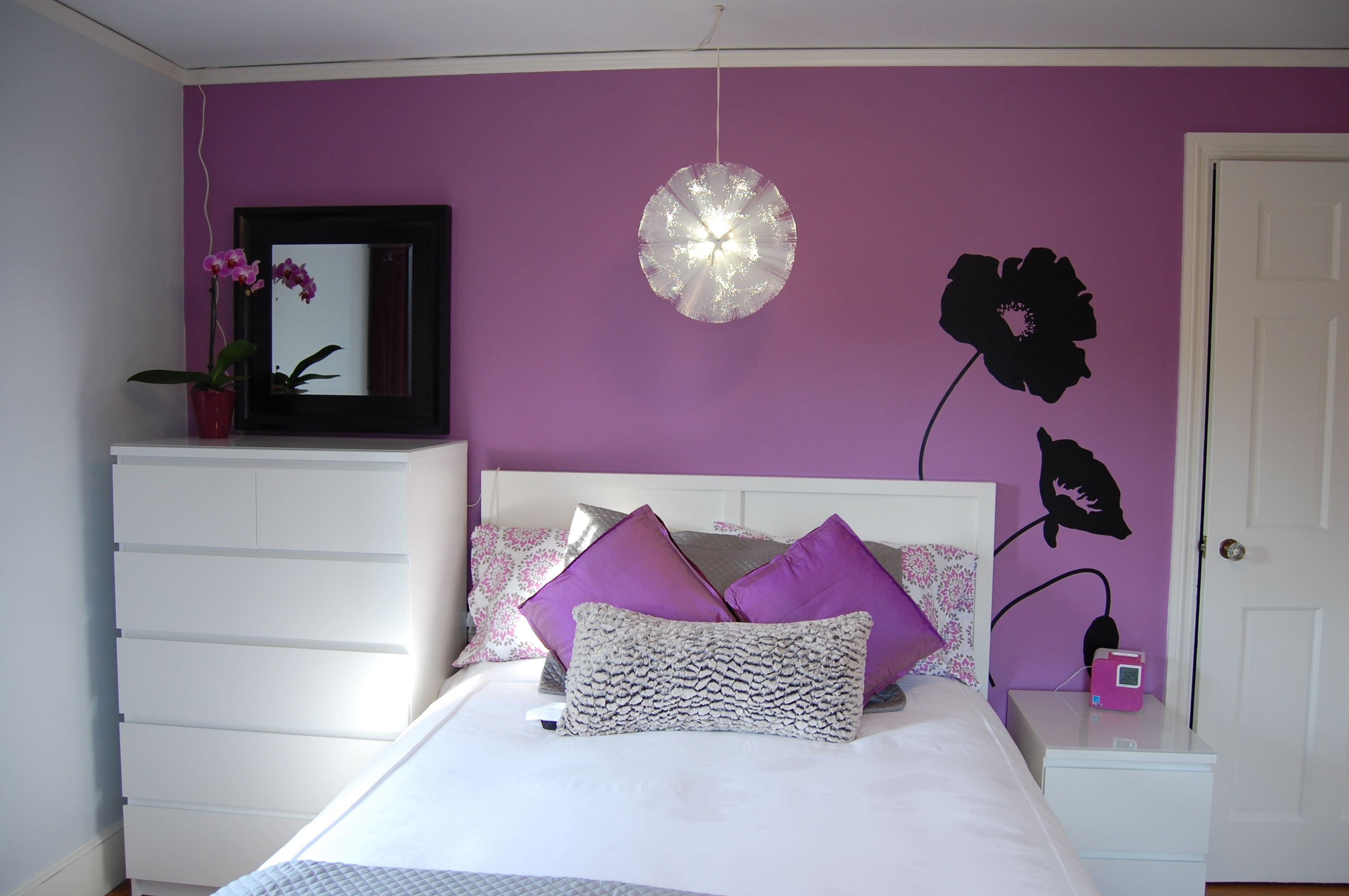 White Hot Bedrooms