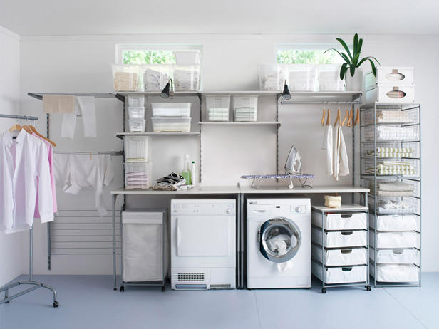 dream laundry organization hgtv