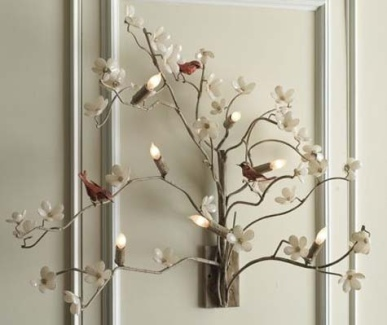 Amazing Dogwood Sconce $1,600