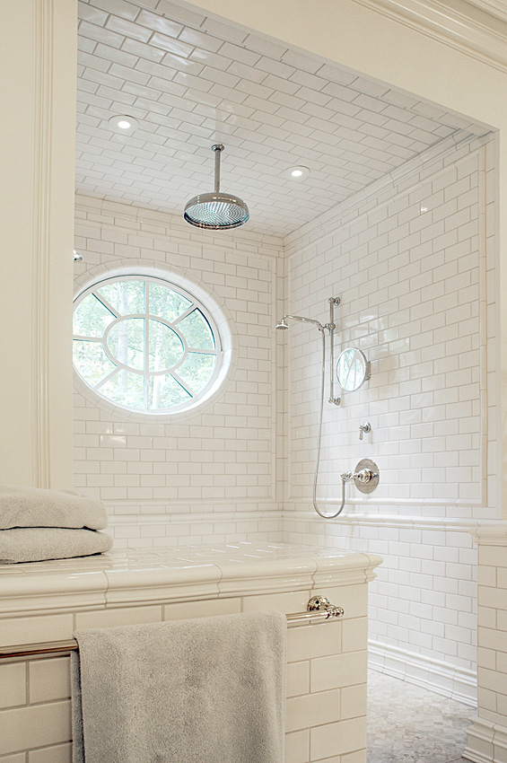 Great window for a small space. www.gatheredhouse.com
