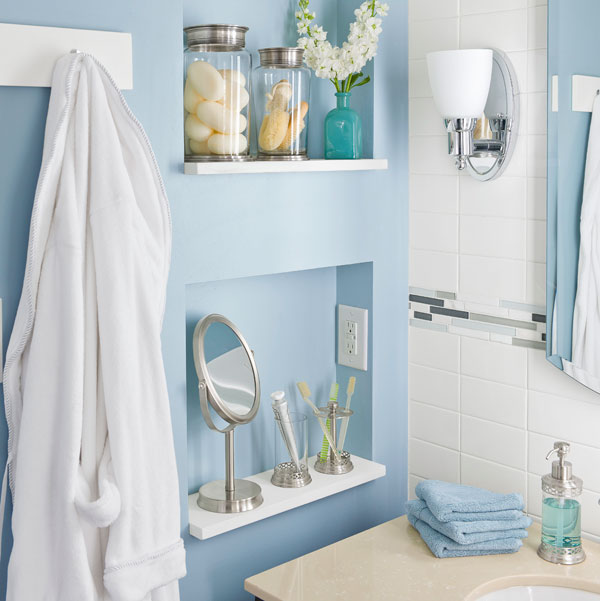 Popular Vanity Mirror With Shelf Bathroom Vanities With Open Shelves Lowe39s