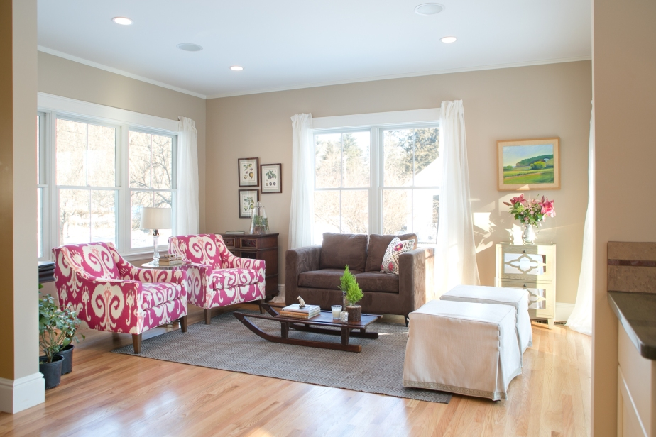 A well designed room comes from layering; colors, textures andpatterns