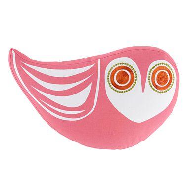owl pillow