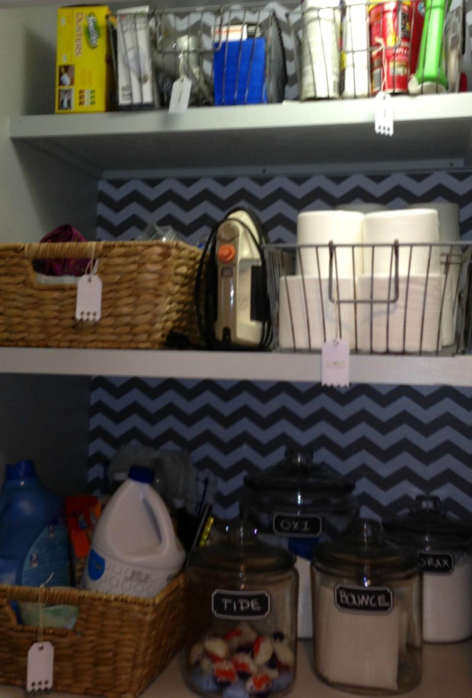 Laundry Room/Closet Makeover