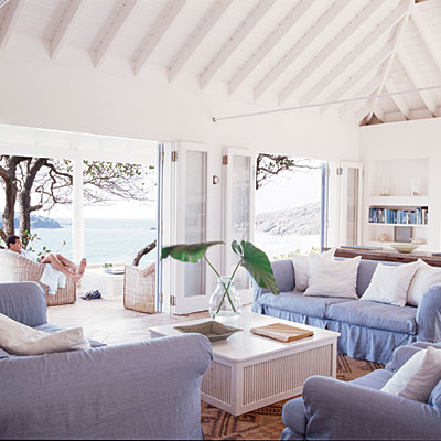 coastal living livingroom