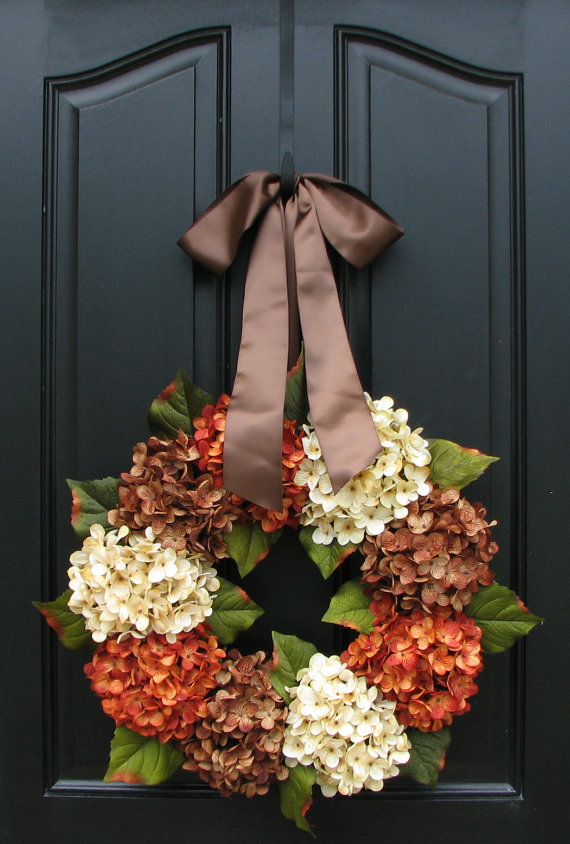 DECOR THANKSGIVING 2-WREATH