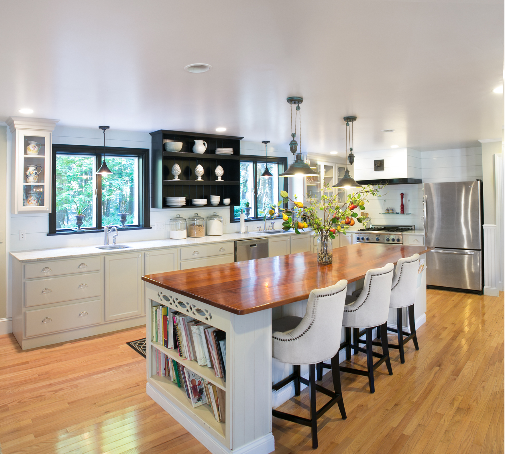Kitchen With Living Room Design: Need Inspiration For A Kitchen Renovation? Look At These