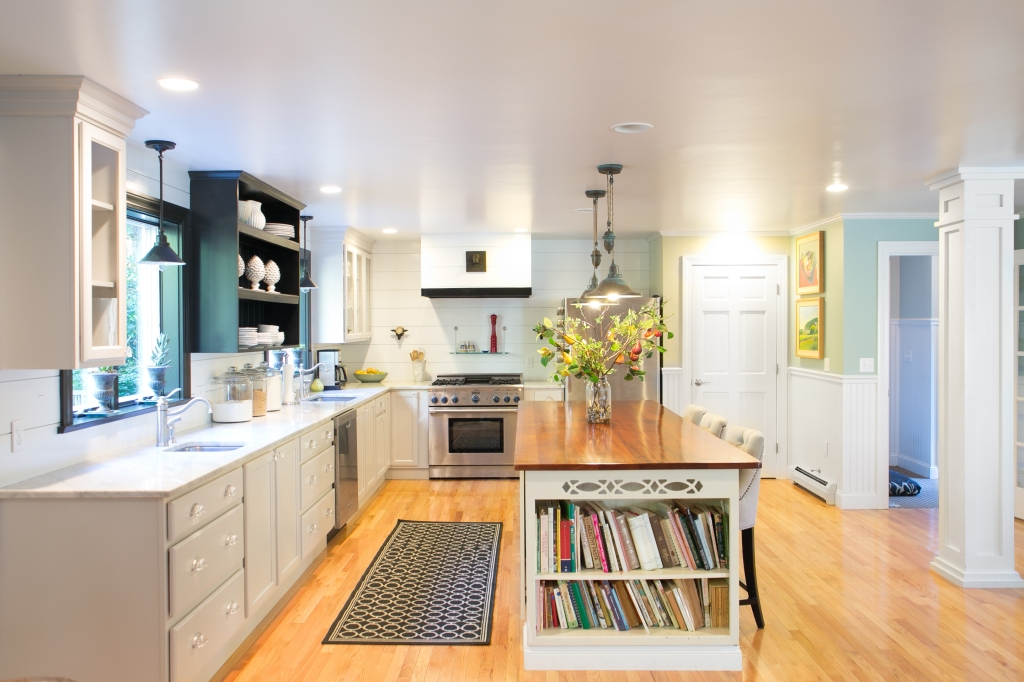 Kitchen from TV area
