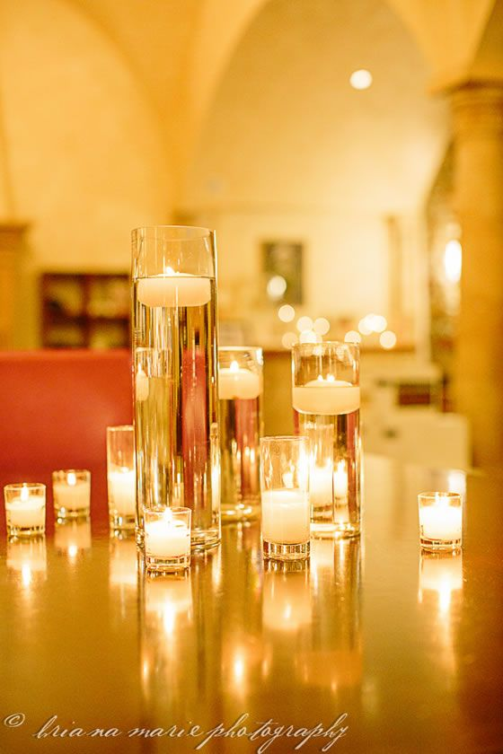 candles mm wedding