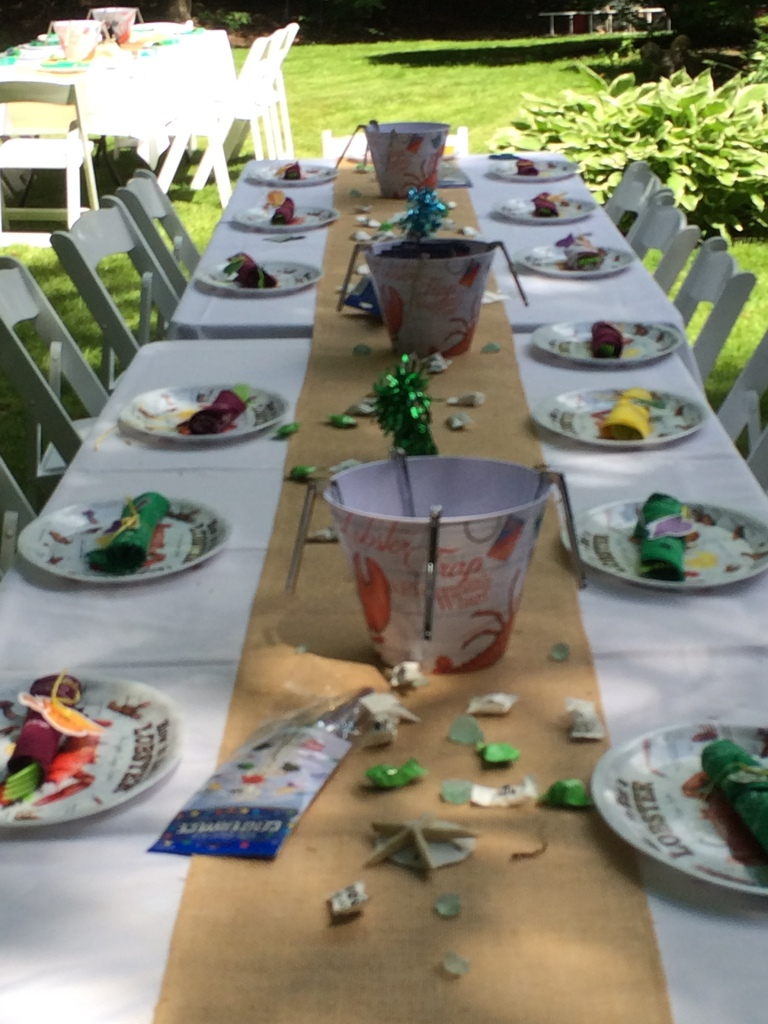 MAINE GRAD PARTY TABLE