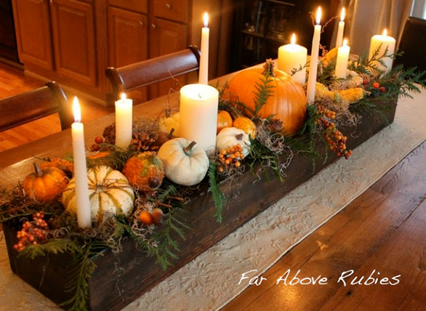 10 easy long lasting thanksgiving centerpieces celia bedilia Thanksgiving table