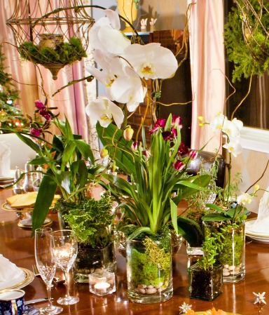 ORCHID tablescape