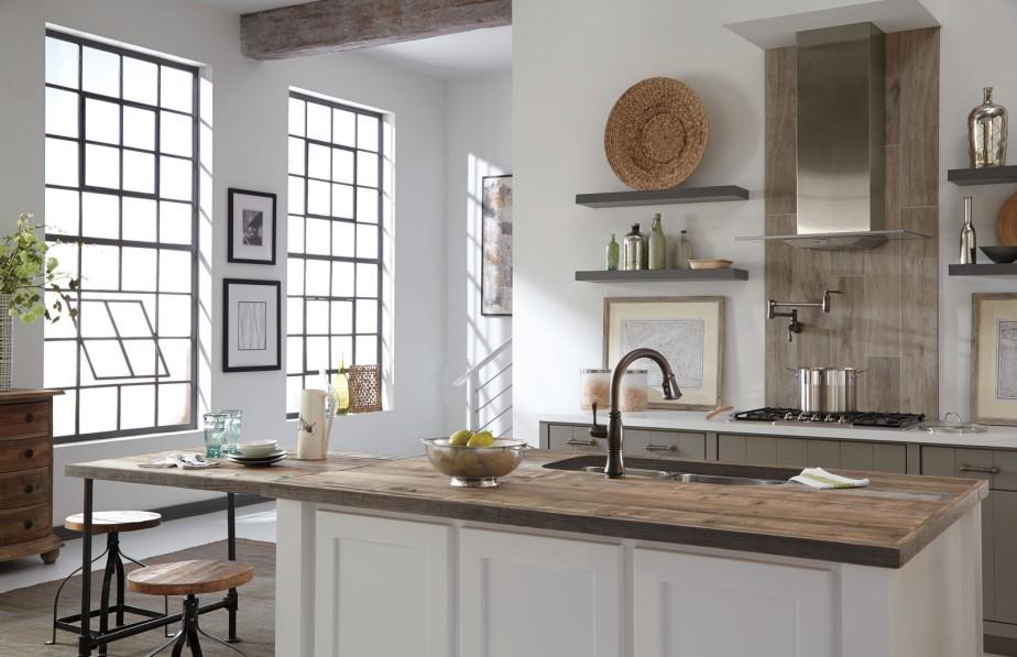 dwell white kitchen