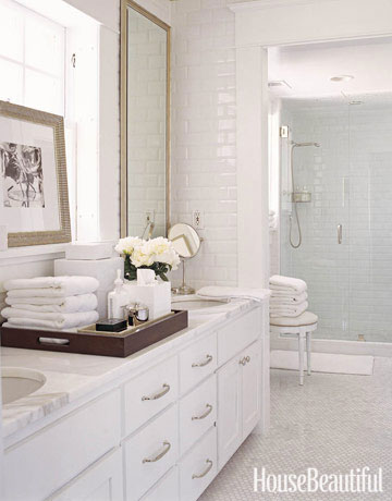house beautiful bath white