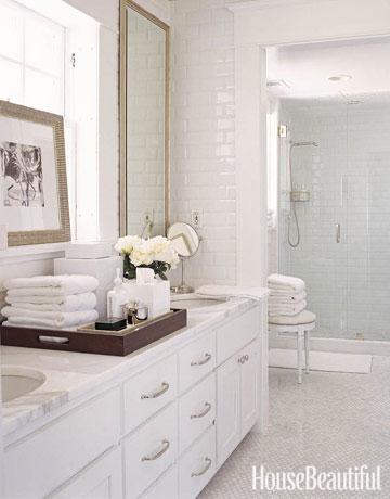 house beautiful bath white